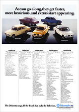TRIUMPH DOLOMITE SPRINT & 1300 1500 1850 RETRO A3 POSTER PRINT FROM 70'S ADVERT