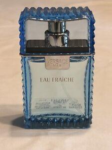 Versace Man Eau Fraiche 1 oz EDT Eau De Toilette Cologne for Men New w/o Box