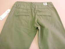 026 WOMENS NWT ROXY KHAKI GREEN 3/4 CAPRI SHORTS 8 $86.