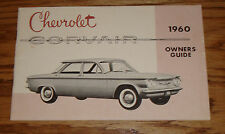 Original 1960 Chevrolet Corvair Owners Operators Manual 60 Chevy
