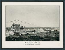 Claus Bergen Kaiserliche Marine U-Boot Flotte Nordsee Helgoland Küstenschutz ´17