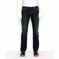 $134 Levi'S Men 514 Blue Straight Fit Leg Midnight Pants Denim Jeans 32 W 32 L