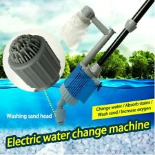 Electric Gravel Cleaner set water change pump Aquarium fish tank cleaning tool