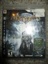 Batman: Arkham Asylum (Sony Playstation 3, 2009) Ps3 w/ Case