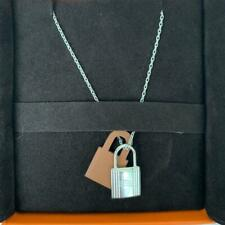 Hermes O'Kelly Pendant Necklace Gold and Palladium 20 years on eBay
