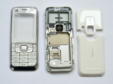 White Housing cover Case fascias facia faceplate For Nokia 6120 white