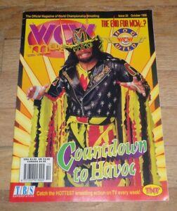 1996 Oct WCW Wrestling Magazine Randy Savage Cover WWE NWO Giant Paul Wight AEW