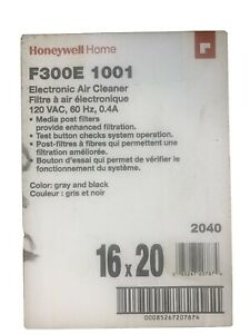 HONEYWELL F300E1001 Electronic Air Cleaner,120 V,16 H X 20 W