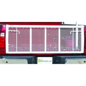 Go Industries For Ford Trucks White Painted Straight Tailgate - 6618