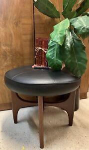 Mid Century Teak G Plan Fresco Dressing Table Stool / Footstool