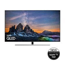 """Samsung 2019 55"""" Q80R QLED QE55Q80RATXXU 4K HDR 1500 Smart TV Apple Tv Warranty"""