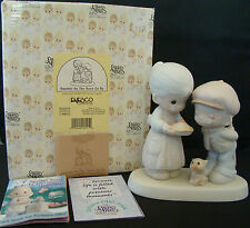 SWEETER AS THE YEARS GO BY 522333 Precious Moments HEART 1ST Mark RETIRED MIB