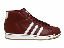 NEW $90 Adidas Originals Pro Model Burgundy/White BY4172 US Mens 14
