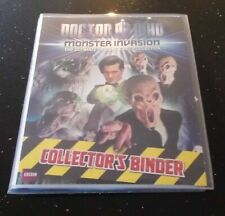 Dr Doctor Who MONSTER INVASION Complete Set in Album - NEW, no Infinite included