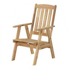Gartensessel Holzsessel Kiefer Gartenstuhl Gartenmöbel Stuhl Gartengarnitur Top