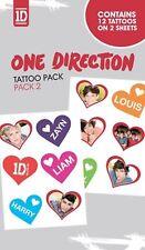 One Direction-Pack no#2 - Tatouage Pack-Tatouage images-NEUF NEUF dans sa boîte