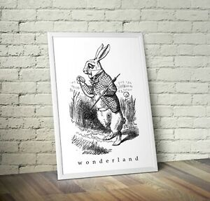 Vintage Alice In Wonderland Art Print 1 - Nursery New Arrival