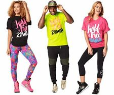 Zumba Fitness Unisex Wild for Zumba Tshirt One Size (Mens L-XL) NEW!
