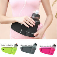 Sports Running Belt Waist Bag With Water Bottle Holder For 6 in Phone Durable