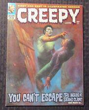 1972 CREEPY Warren Magazine #43 FN+ 6.5 Author F. Paul Wilson FPW Collection