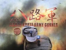 Soldier Story China Eighth Route Army Gunner Grey Cap loose 1/6th scale