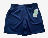 "DSG 7"" Mid Rise Short Elastic Waist Performance Pockets Navy Women's Size S NWT"