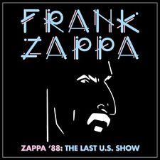 Frank Zappa - Zappa 88: The Last U.S. Show [CD] Sent Sameday*