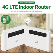 Mobile 4G LTE Router Hotspot 300Mbps CPE Support LTE Sim Card 32 user European