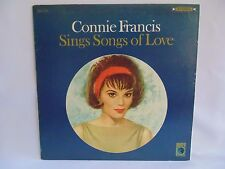 1966 CONNIE FRANCIS Sings Songs of Love M571 Metro Vinyl LP Mono VG++ Pop 12""