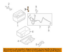 FORD OEM-Battery Hold Down Bolt 6E5Z10756A