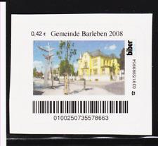 Privatpost. Biber Post. Gemeinde Barleben 2008, postfrisch