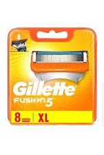 Gillette Männer Fusion5 Rasierklingen, 1er Pack (1 x 8 Stück)