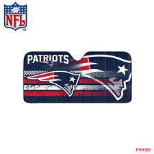 New NFL New England Patriots Car Truck Windshield Folding Sun Shade Large Size