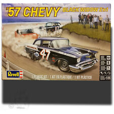REVELL 1/25 '57 CHEVY 'BLACK WIDOW' 2-IN-1 KIT 85-4441