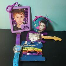 Justin Bieber Lot/5 Watch Ornament Bracelets Clip Frame Guitar Frame A5
