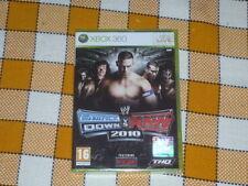 X BOX XBOX 360 SMACKDOWN vs RAW 2010 WWE WWF 16+ NEW sealed RARE Cena Rey Edge