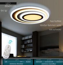 LED XW092WJ Deckenleuchte mit Fernbedienung Lichtfarbe stufenweis einstellbar A