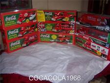 Coca Cola 1998 2006 Coke Truck CARRIER SEMI COMPLETE 9 SET Santa Holiday NIB LTD