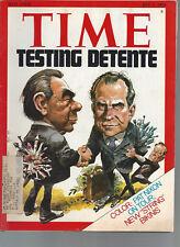 Time Magazine Testing Detente July 1 1974