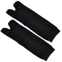 5 Pairs Men Black Ninja 2 Toe Socks Japanese Kimono Clog Tabi Sandal Split Socks