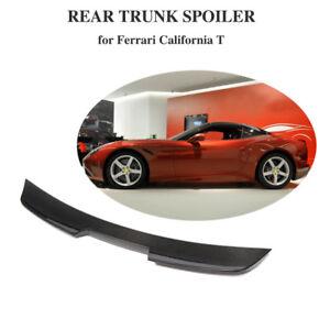 Fit For Ferrari California T Rear Trunk Spoiler Lid Wing Carbon Fiber 2015-2018