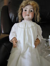"Hugh Antique German AM Bisque Doll Head on Composition Body ~ 35"" Tall"