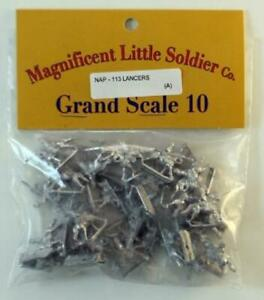 Old Glory Napoleonic French 10mm Lancers Pack New