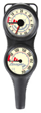 Zeagle Metric 2 Gauge Combo Depth & Submersible Pressure Gauge - BAR, Meters