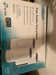 TP-LINK Deco Whole Home Mesh Wi-Fi System. AC1200 Deco M4. 3-pack