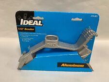"Unused Ideal Model 74-031 Aluminum 1/2"" Emt Conduit Pipe Bender Head (A8)"