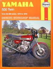 Haynes Manual 0308 - Yamaha TX500, XS500 Twins 73-76   LIMITED EDITION RE-PRINT