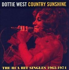 Country Sunshine: The RCA Hit Singles 1963-1974 by Dottie West (CD, Oct-2011, T-Bird Americana)