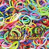 600 élastique multicolores pour jeu de bracelet rainbow loom band kit refill