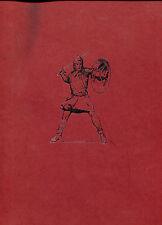 The Prince Valiant Scrapbook-Hal Foster - Facsimile manuscript Limited Edition